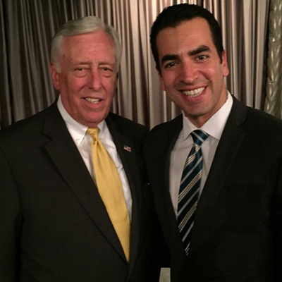 Hoyer stands with Ruben Kihuen, candidate for Nevada's 4th Congressional District